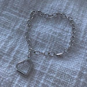 Jewelry - Silver Heart Bracelet New